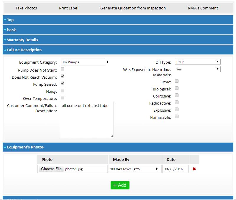 System ERP dla firmy handlowo-usługowej - szczegóły sprzętu i usług