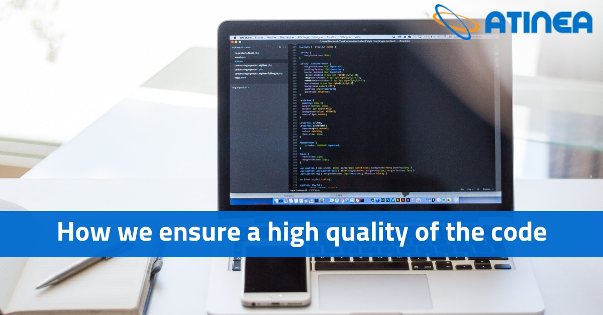 How we ensure a high quality of the code when outsourcing software developers