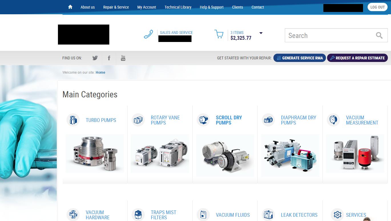 System ERP dla firmy usługowo-handlowej - sklep