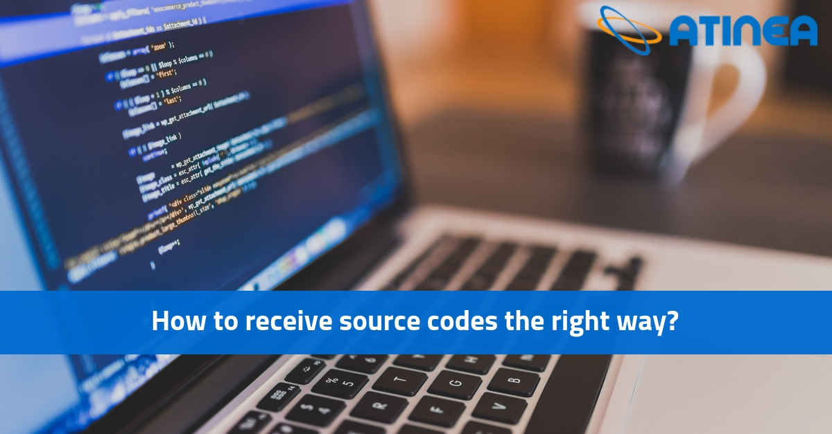 How to receive source codes