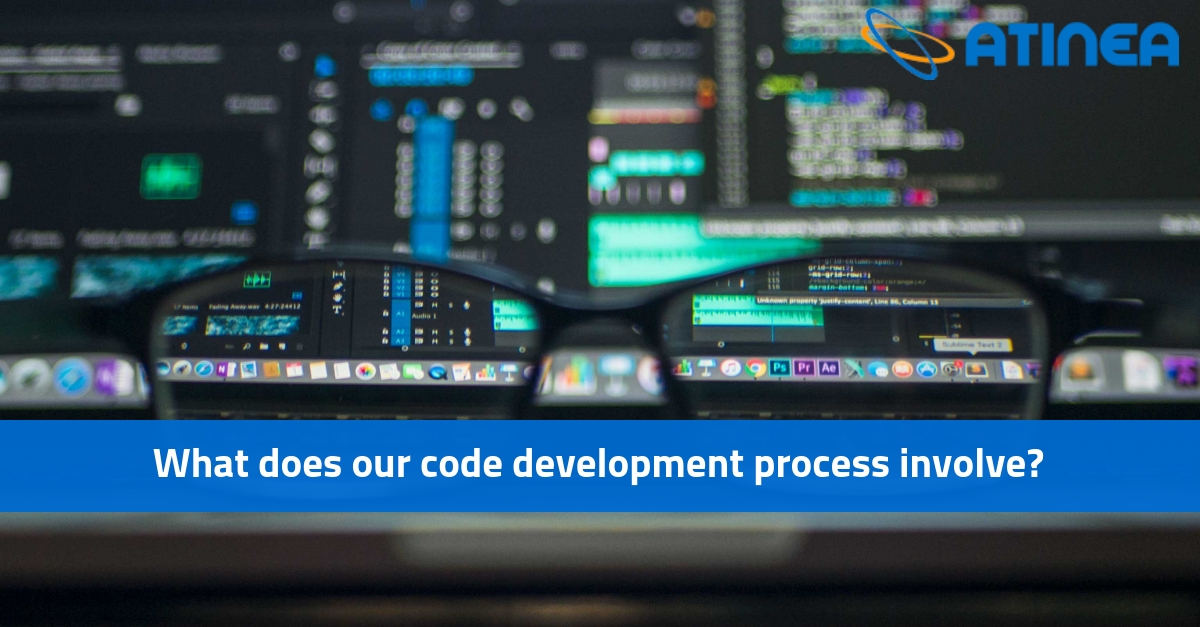 What does our code development process involve?
